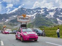 St Michel Vehicle - Ronde van Frankrijk 2014 Stock Afbeelding