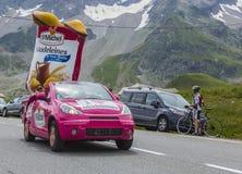St Michel Vehicle - Ronde van Frankrijk 2014 Stock Foto's