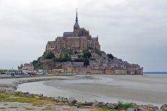 St Miguel de Mont en Normandía Foto de archivo