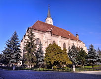 The St Mihail Church, Cluj, Romania Royalty Free Stock Photography