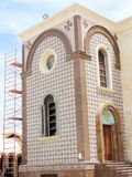 St. Mina Cathedral at Egypt. St. Mina Cathedral Egypt Royalty Free Stock Image