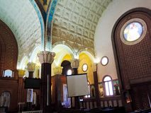 Inside St. Mina Cathedral at Egypt. St. Mina Cathedral Egypt Royalty Free Stock Images