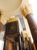 Inside St. Mina Cathedral at Egypt. St. Mina Cathedral Egypt Royalty Free Stock Image