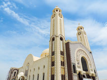 St. Mina Cathedral at Egypt Royalty Free Stock Images