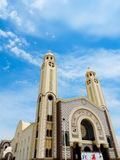 St. Mina Cathedral at Egypt Stock Images