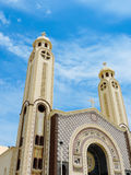 St. Mina Cathedral at Egypt Royalty Free Stock Photos