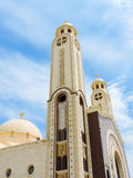 St. Mina Cathedral at Egypt Royalty Free Stock Photography