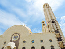 St. Mina Cathedral at Egypt Royalty Free Stock Photo