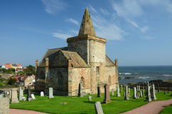 St. Monans Church Royalty Free Stock Images