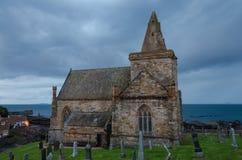 St.monans-kyrka Royaltyfria Bilder