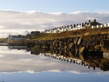 St Monans Reflection Royalty Free Stock Photo