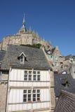 st mont michel Франция Нормандия стоковое фото