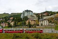 ST Moritz, Ελβετία Στοκ φωτογραφίες με δικαίωμα ελεύθερης χρήσης