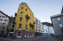 ST Moritz στην Ελβετία Στοκ φωτογραφία με δικαίωμα ελεύθερης χρήσης
