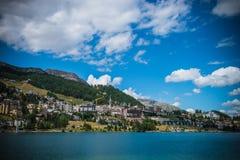 St Moritz в Швейцарии Стоковое Фото