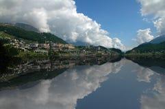 St Moritz Foto de Stock