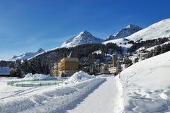 St. Moritz Royalty-vrije Stock Fotografie
