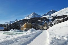 St Moritz Fotografia de Stock Royalty Free