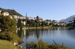 St. Moritz royalty free stock images
