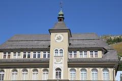 St moritz city hall Stock Photo