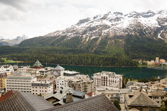 St. Moritz Switzerland Royalty Free Stock Image