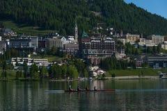 St Moritz, Suiza Fotografía de archivo