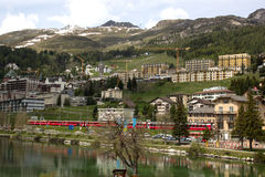 St. Moritz, Switzerland Royalty Free Stock Photo