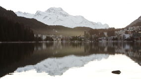 St Moritz in Switzerland stock footage