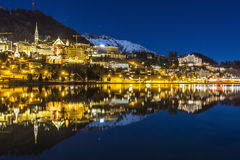 St Moritz in Switzerland Royalty Free Stock Photo