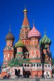st moscow красный России собора базилика квадратный Стоковые Изображения