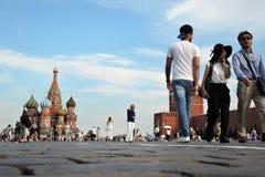 st moscow красный России собора базилика квадратный Стоковые Изображения RF