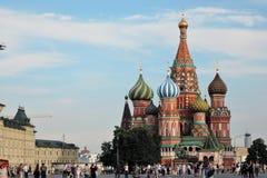 st moscow красный России собора базилика квадратный Стоковое Изображение RF