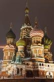 st moscow красный s собора базилика квадратный стоковая фотография