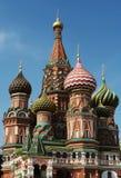 st moscow собора базиликов стоковые изображения rf