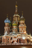 st moscow красный s собора базилика квадратный стоковое изображение rf