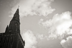 St.Mungo Cathedral of Glasgow, Scotland, vintage Stock Photos