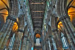 St Mungo's Cathedral in Glasgow Stock Photo
