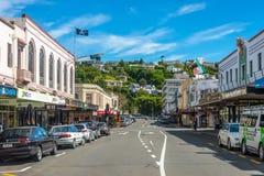 St Napier Nova Zelândia de Hastings Imagem de Stock