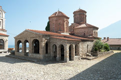 St. Naum Monastery Lake Ohrid, Republic Macedonia Stock Photo