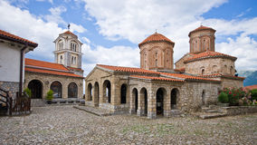 St. Naum monastery near Ohrid, Macedonia Stock Photos