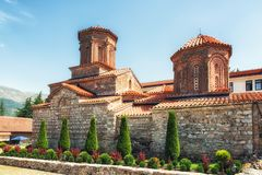 St Naum Monastery, Ohrid, Macedônia Fotografia de Stock Royalty Free