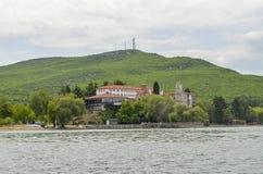 St Naum, Ocrida, Macedonia immagini stock libere da diritti