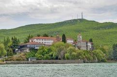 St Naum, Ocrida, Macedonia fotografie stock