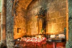 St Nazaire e st Celse a Carcassonne, Francia Immagine Stock Libera da Diritti