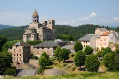 St.Nectaire, France Royalty Free Stock Photos