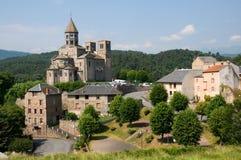 St.Nectaire, Frankrijk Royalty-vrije Stock Foto's