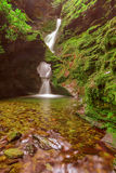 St Nectan's Glen, Tintagel, Cornwall. Royalty Free Stock Image