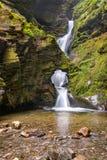St Nectans Kieve waterval Royalty-vrije Stock Afbeelding
