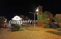 St. Nectaruis Church in Faliraki, Rhodes island, Greece. Stock Image