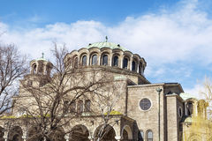 St. Nedelya Church in Sofia Stock Photo